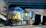 E711-29 heads back to West Virginia with a pair of AC44CW's CSXT 133 and CSXT 531 